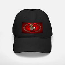 Aries Black Baseball Cap Astrology Aries Cap