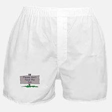 Please don't feed the Ian Boxer Shorts