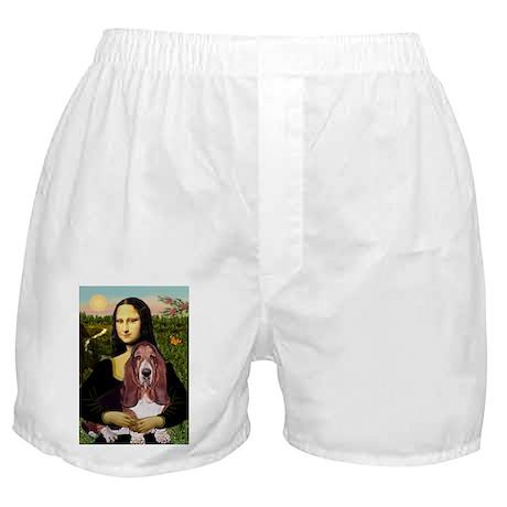 Mona's Basset Hound Boxer Shorts