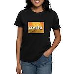 Create - Scissors - Crafts Women's Dark T-Shirt