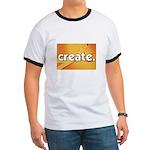 Create - Scissors - Crafts Ringer T