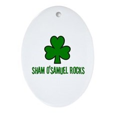 O' samuel rocks Oval Ornament