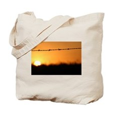 Barbed Sunset Tote Bag