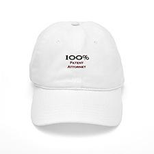 100 Percent Patent Attorney Baseball Cap