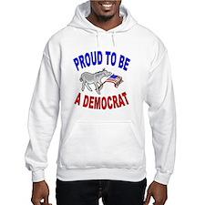 Proud Democrat Gear Hoodie