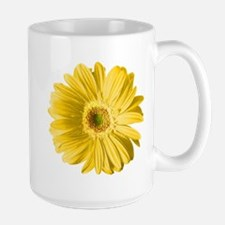 Pop Art Yellow Daisy Mug