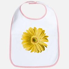 Pop Art Yellow Daisy Bib