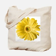 Pop Art Yellow Daisy Tote Bag