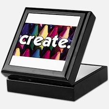 Create - Crayons - Crafts Keepsake Box