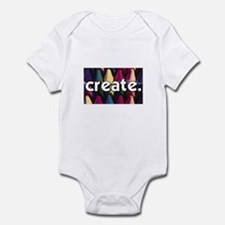 Create - Crayons - Crafts Infant Bodysuit