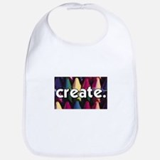 Create - Crayons - Crafts Bib