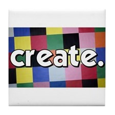 Create - Quilt - Sewing Tile Coaster