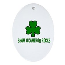 O' cameron rocks Oval Ornament