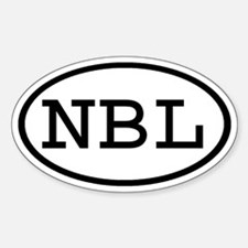 NBL Oval Oval Decal