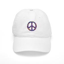 Star Peace Symbol Baseball Baseball Cap