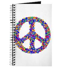 Star Peace Symbol Journal