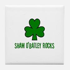 O' bailey rocks Tile Coaster