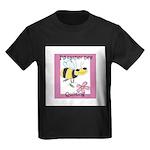 I'd Rather Bee Quilting Kids Dark T-Shirt