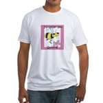 I'd Rather Bee Quilting Fitted T-Shirt