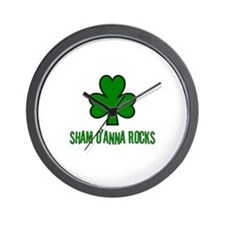 O' anna rocks Wall Clock