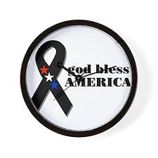 4th Of July~ American Pride Wall Clock