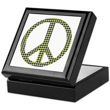 Smiley Face Peace Keepsake Box