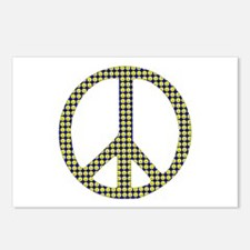 Smiley Face Peace Postcards (Package of 8)
