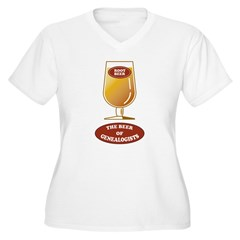 Genealogists Beer T-Shirt