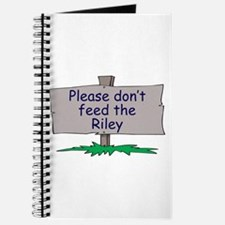 Please don't feed the Riley Journal
