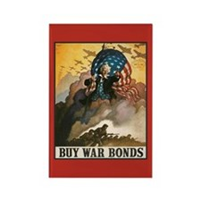 War Bonds Rectangle Magnet
