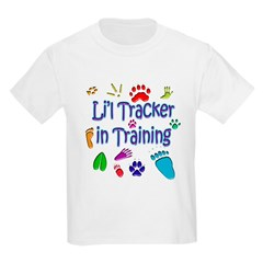 Animal Tracks - Tracker in Training Kids T-Shirt