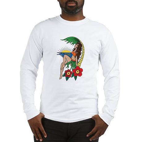 Island Girl Tattoo Long Sleeve T-Shirt