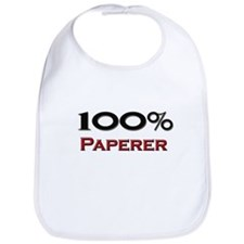 100 Percent Paperer Bib