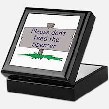 Please don't feed the Spencer Keepsake Box