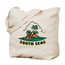 South Seas Tattoo Tote Bag