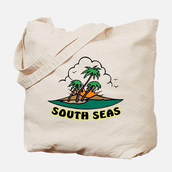 South Seas Tattoo Tote Bag