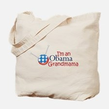 I'm an Obama Grandmama Tote Bag