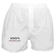 100 Percent Paleobiologist Boxer Shorts
