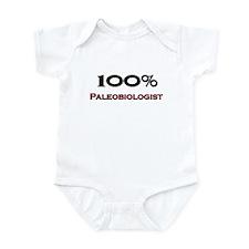 100 Percent Paleobiologist Infant Bodysuit