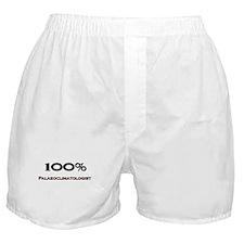 100 Percent Palaeoclimatologist Boxer Shorts
