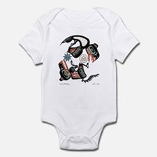 Eagle & Wolf Rising Infant Bodysuit