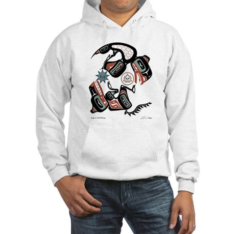 Eagle & Wolf Rising Hooded Sweatshirt