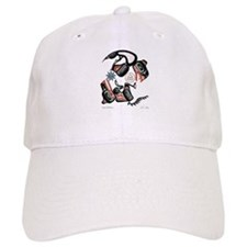 Eagle & Wolf Rising Baseball Cap