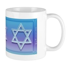 Star Of David Colorful Mug