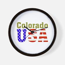 Colorado USA Wall Clock