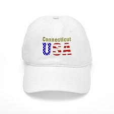 Connecticut USA Baseball Cap