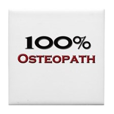 100 Percent Osteopath Tile Coaster