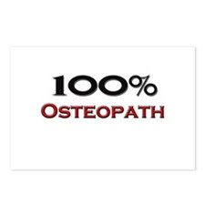 100 Percent Osteopath Postcards (Package of 8)