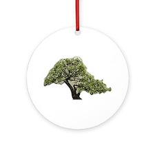 Bonsai Blossom Ornament (Round)