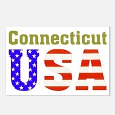 Connecticut USA Postcards (Package of 8)